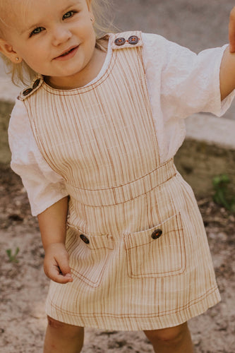 Toddler Overall Dress | ROOLEE
