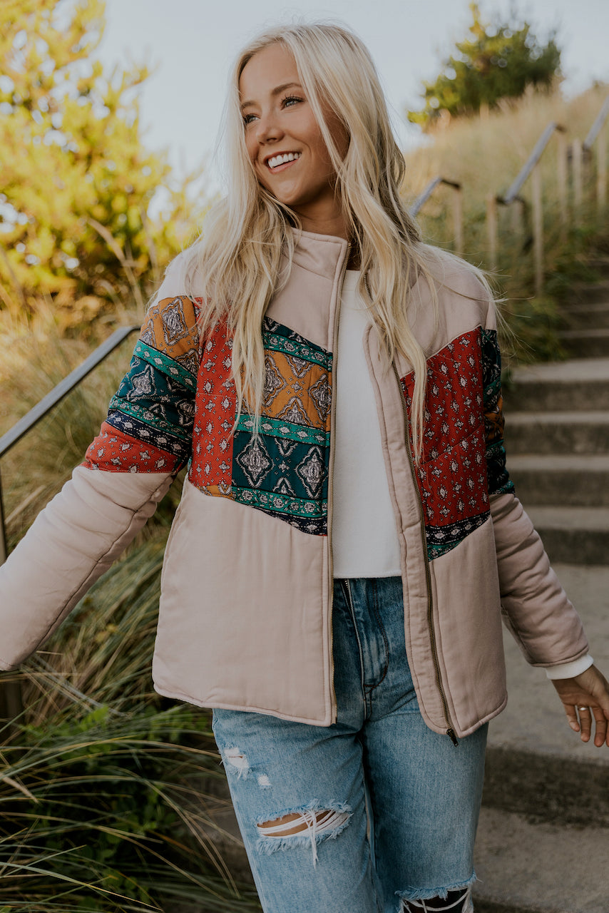 Patterned Jacket | ROOLEE