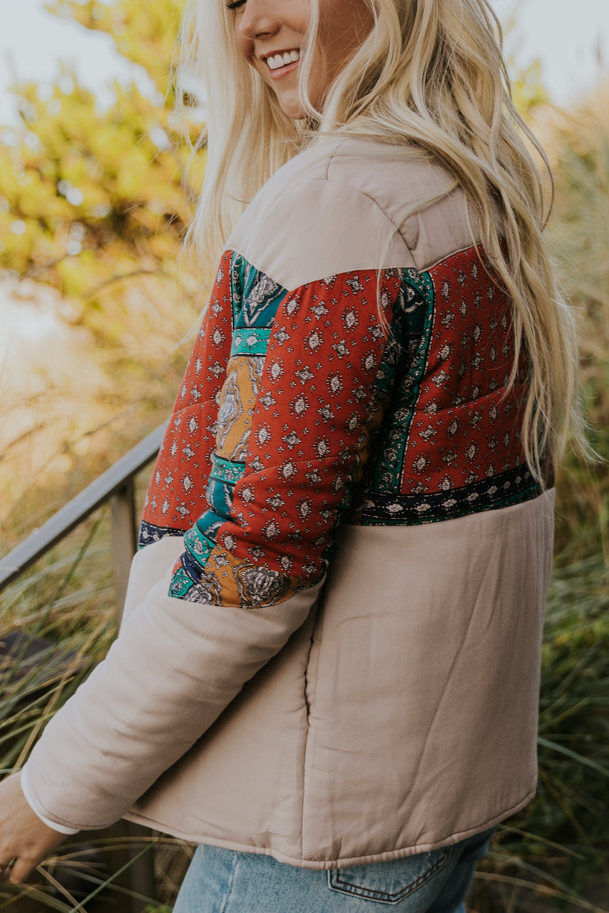 Patterned Coat | ROOLEE