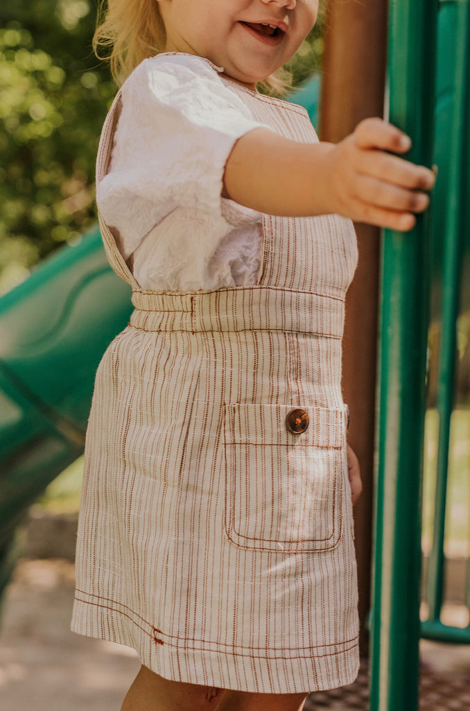 Girl's Overall Summer Dress | ROOLEE