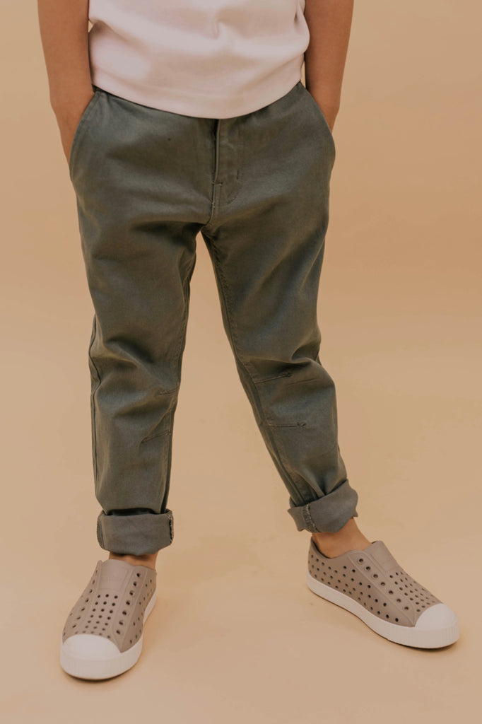 Blue Dress Pants for Boys | ROOLEE