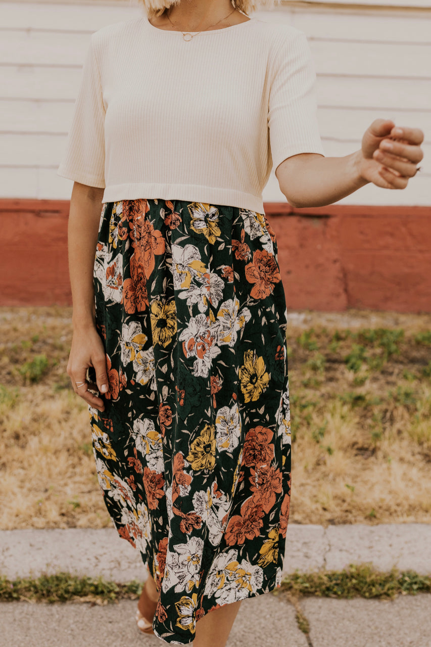 Midi Floral Dress | ROOLEE