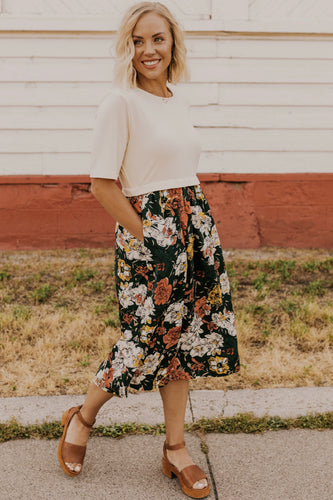 Fall Floral Dress | ROOLEE