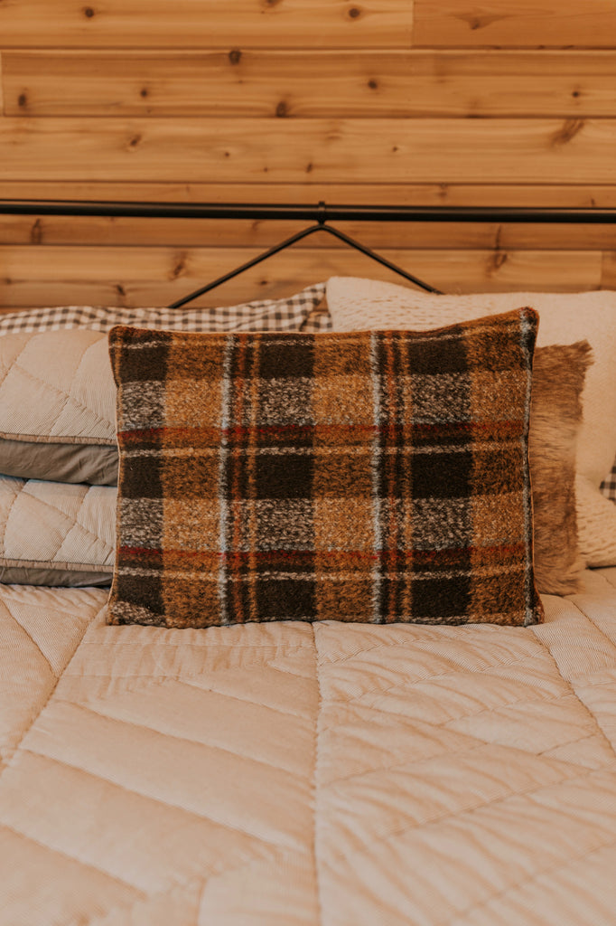 Plaid Pillow | ROOLEE