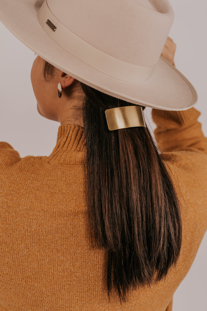 Gold Hair Clip | ROOLEE
