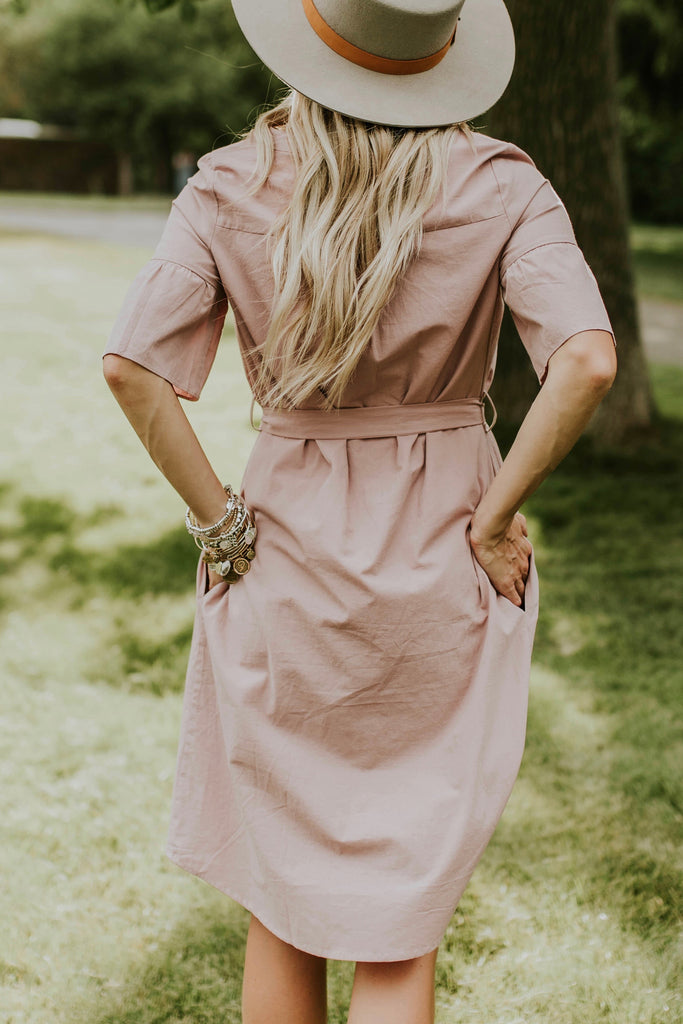 Mauve Dress | ROOLEE