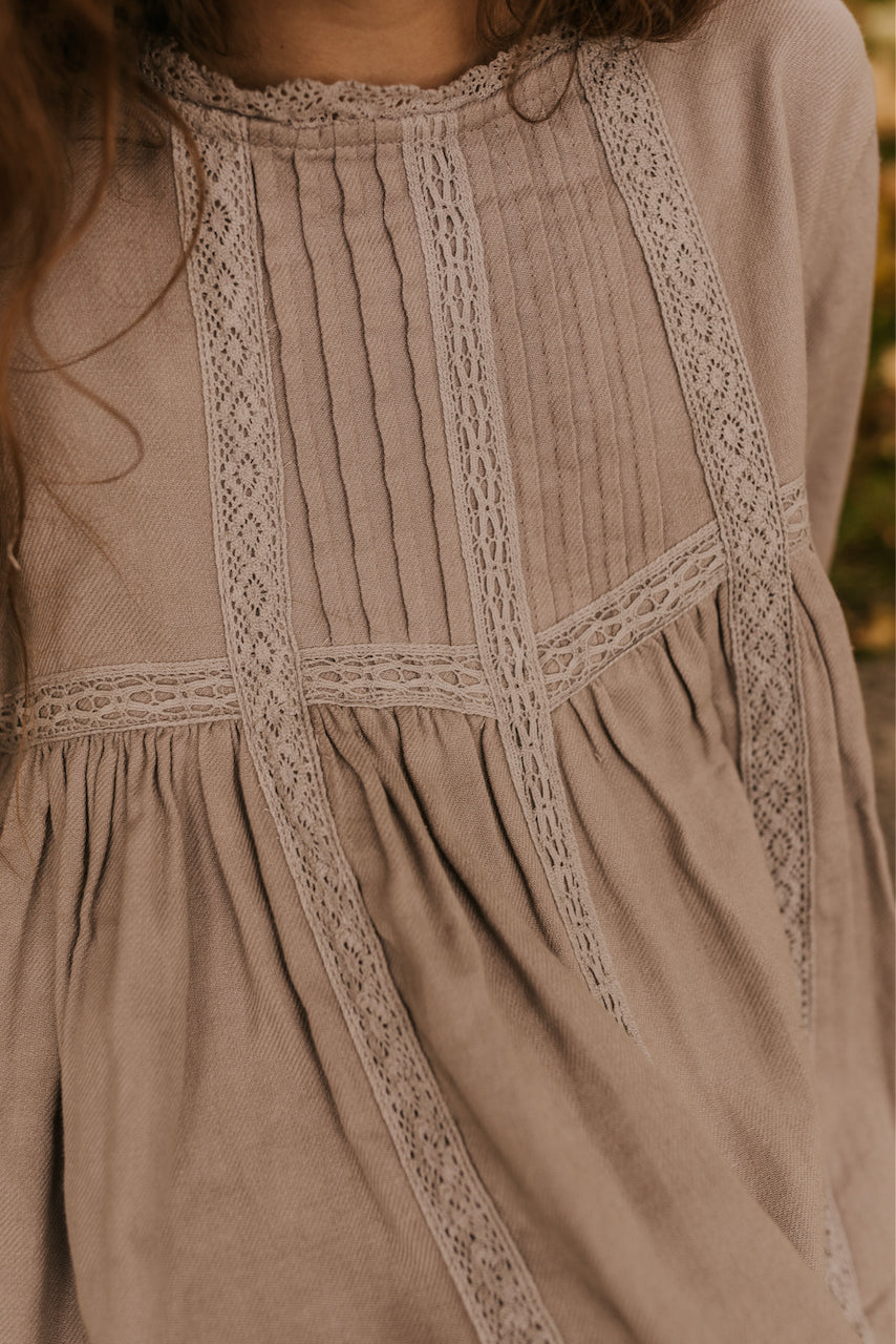 Lace Detail Dress | ROOLEE
