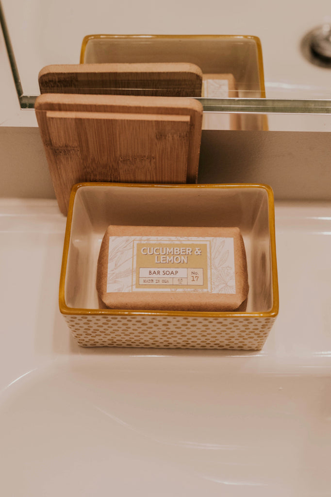 Yellow Soap Dish | ROOLEE