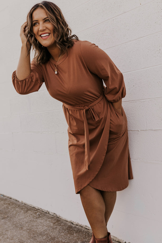 Solid Color Dress | ROOLEE