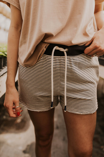 Drawstring Sweat Shorts | ROOLEE