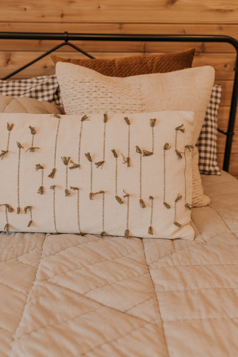 Rustic Lumbar Pillows | ROOLEE