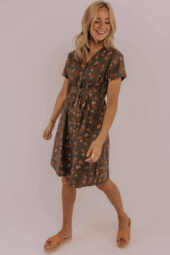 Modest Floral Spring Dress | ROOLEE