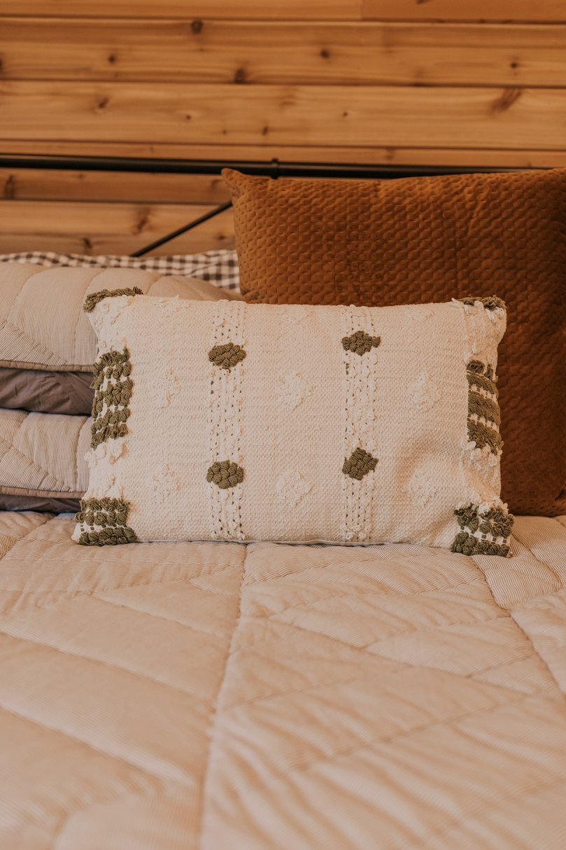 Hand Woven Plush Pillow | ROOLEE