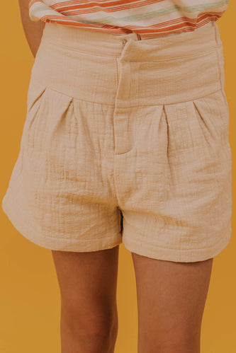 Girls High Waisted Shorts | ROOLEE
