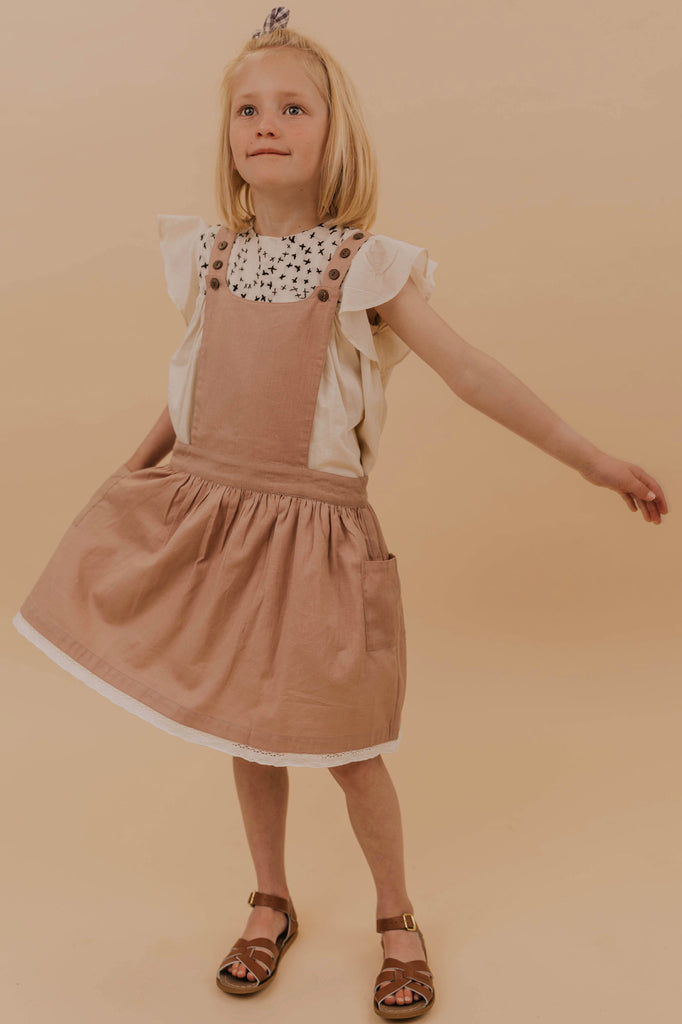 Girls Overall Dress | ROOLEE