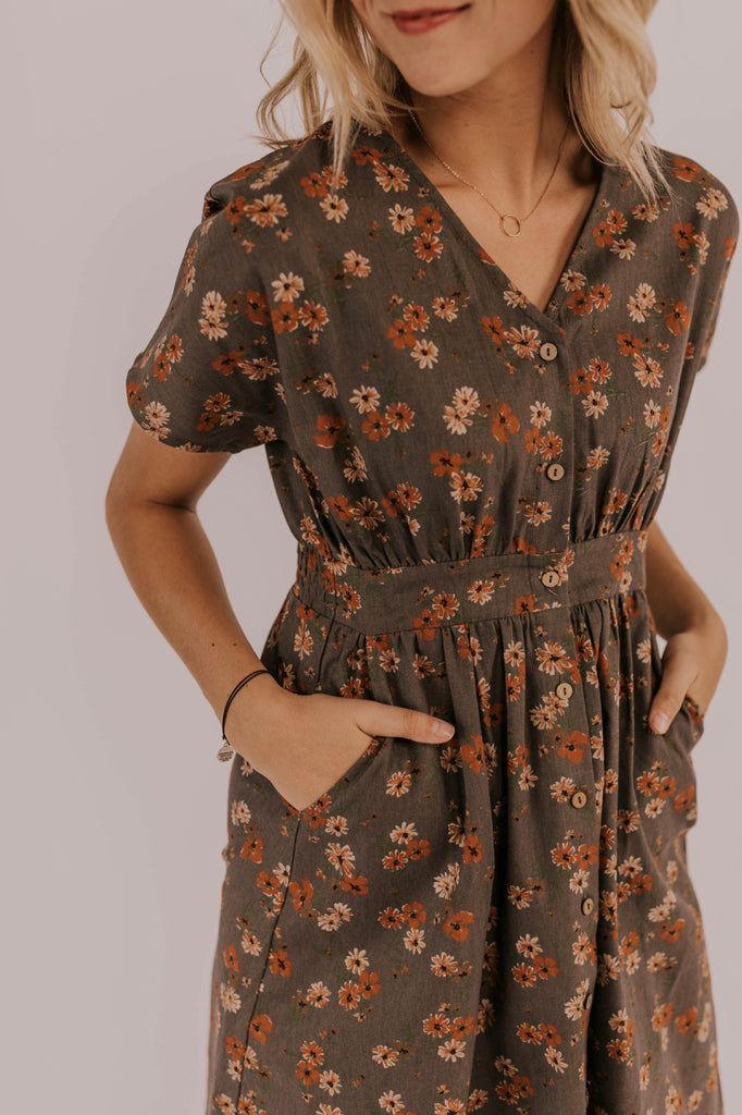 Modest Floral Dress Spring/Summer | ROOLEE