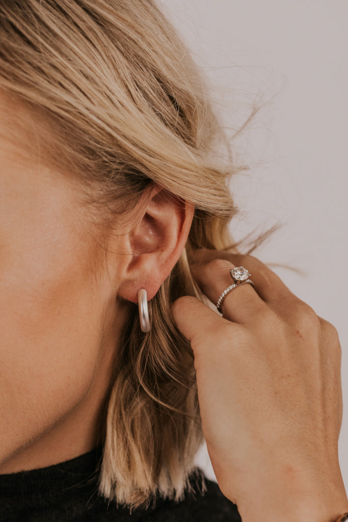ROOLEE Dottie Hoop Earrings