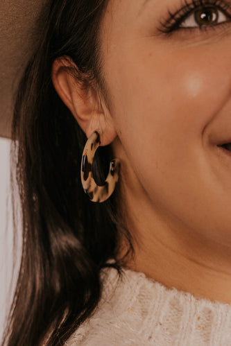 ROOLEE Leopard or Leave it Earrings