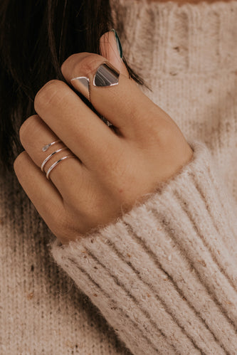 Simple Silver Jewelry | ROOLEE