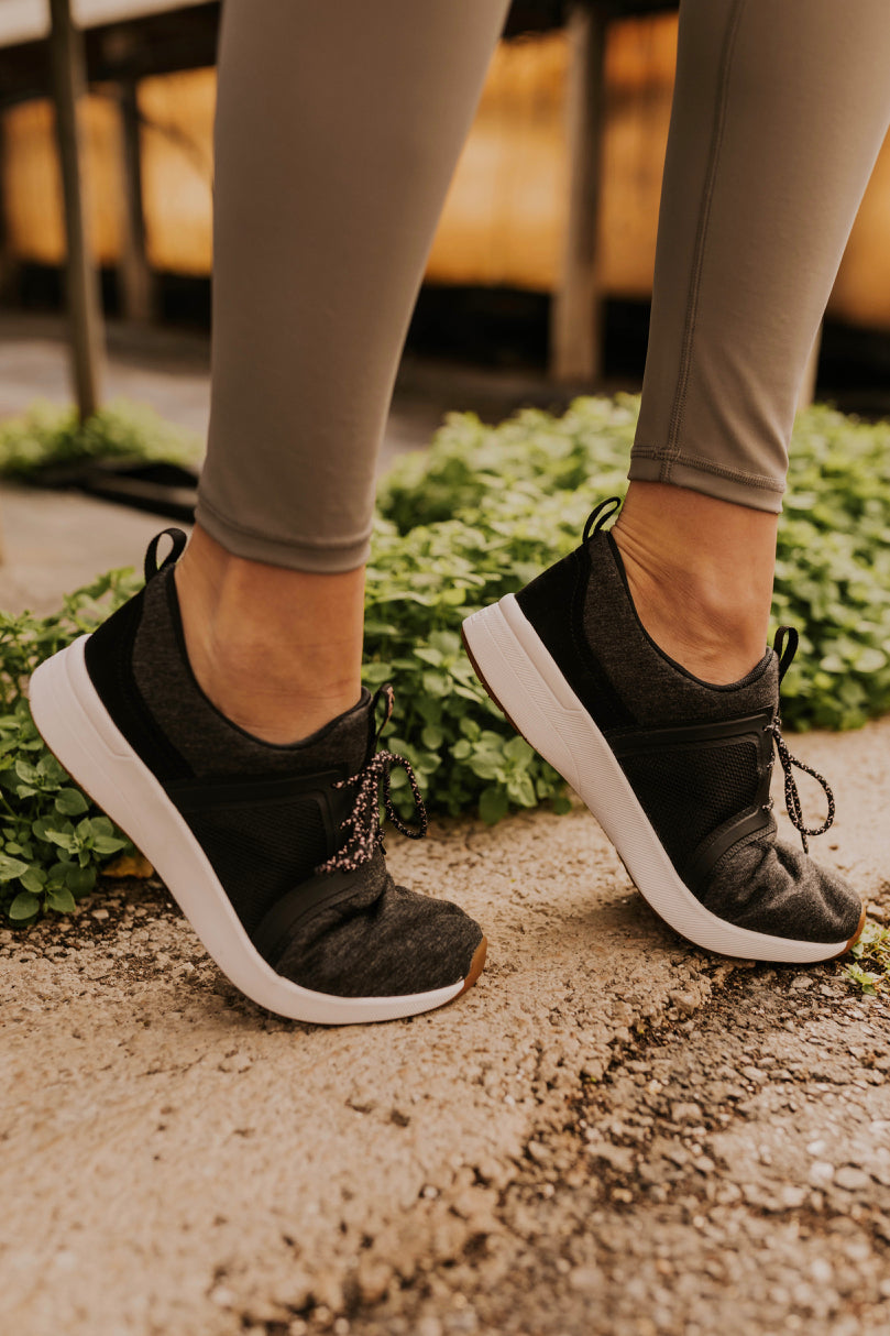 Dark Grey Sneakers | ROOLEE