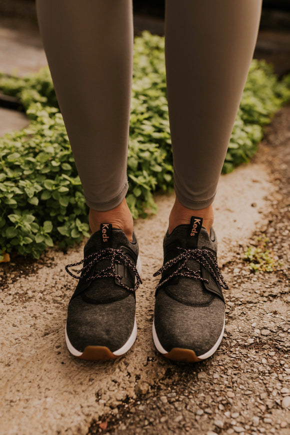 Charcoal Sneakers | ROOLEE