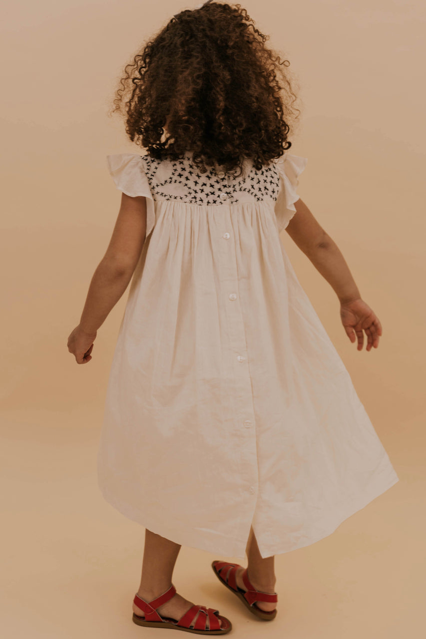 Spring Simple Girl's Dress | ROOLEE