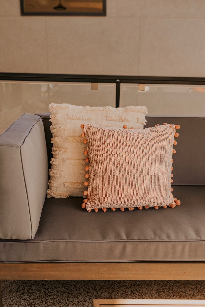 Tassel Pillows for Fall | ROOLEE