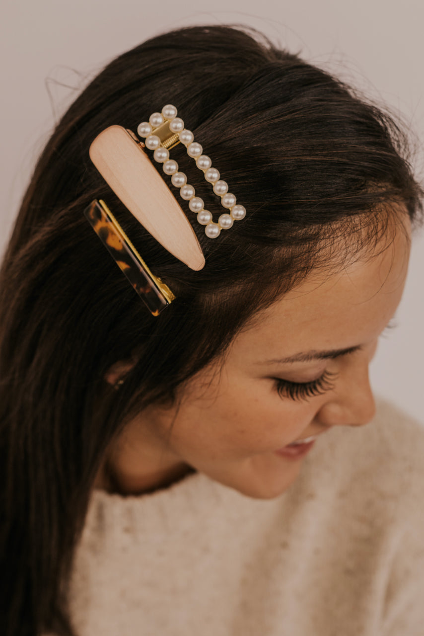 Multiple Styles of Hair Clips | ROOLEE