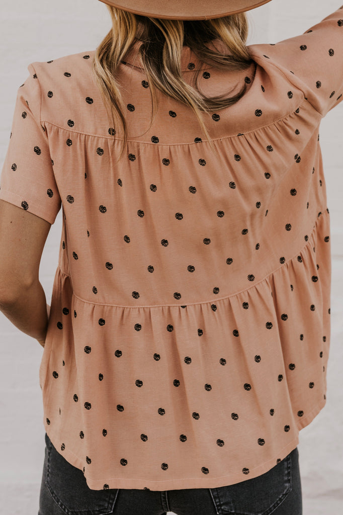 Cute Pink Women's Tops for Fall | ROOLEE