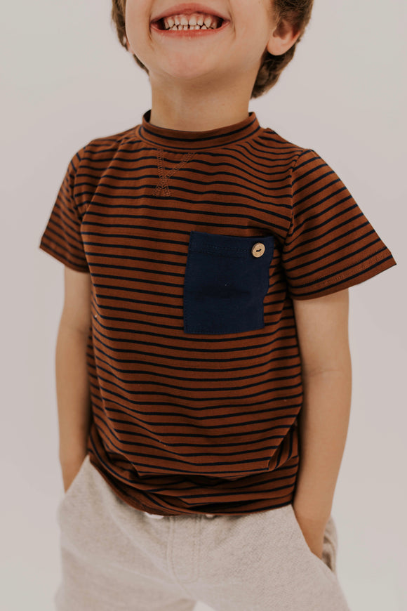 Rust Tee Shirts for Boys | ROOLEE