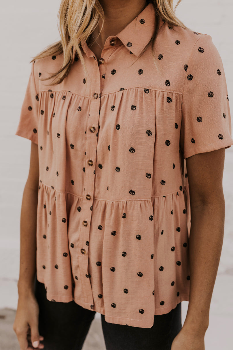 Nursing Friendly Button Up Tops | ROOLEE