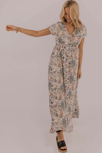 Women's Floral Maxi Dress | ROOLEE