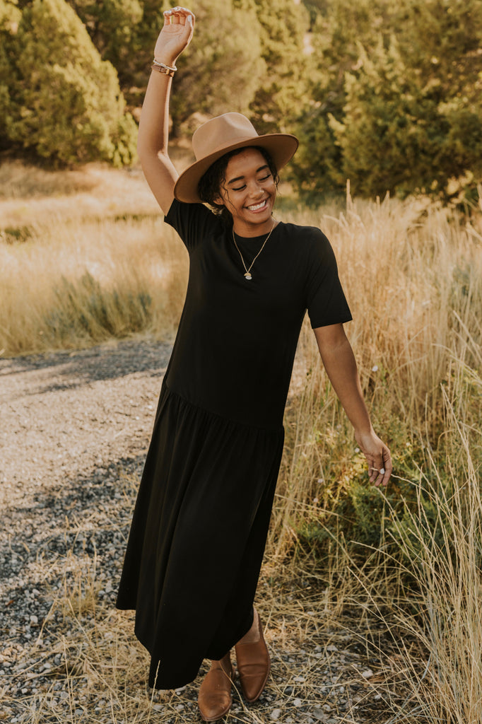 Black Maxi Dress | ROOLEE