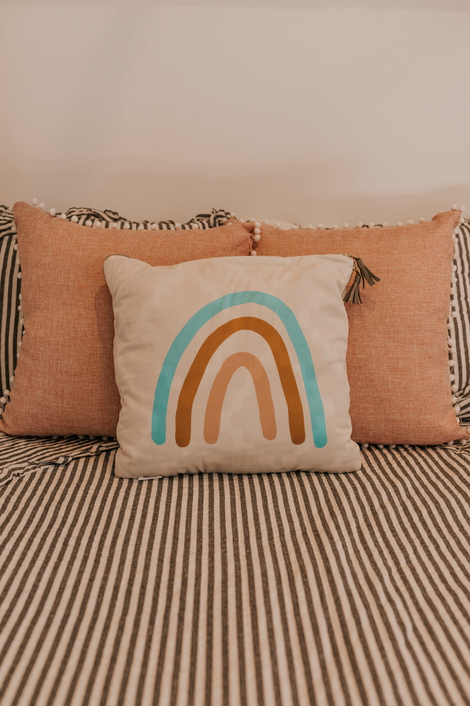 Pastel Pillows for the Neutral Home | ROOLEE