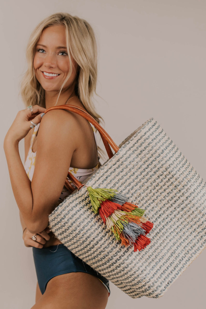 Large Beach Tote | ROOLEE