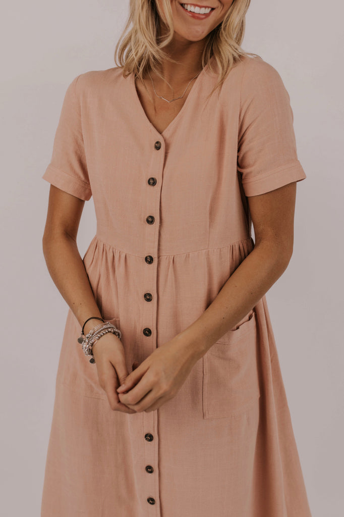 Pocket Nursing Friendly Dress | ROOLEE