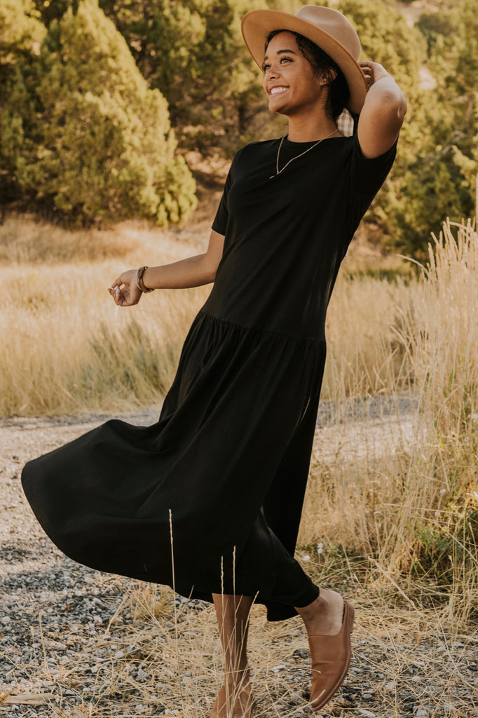 Cute Maxi Dress for Fall | ROOLEE