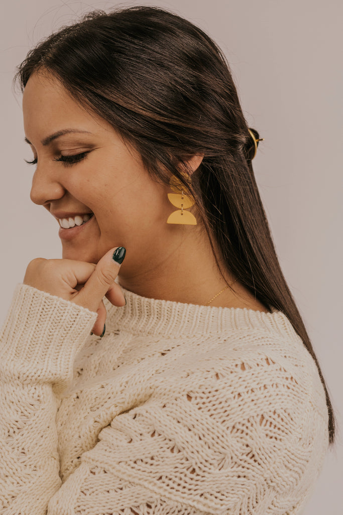 Geometric Earrings | ROOLEE