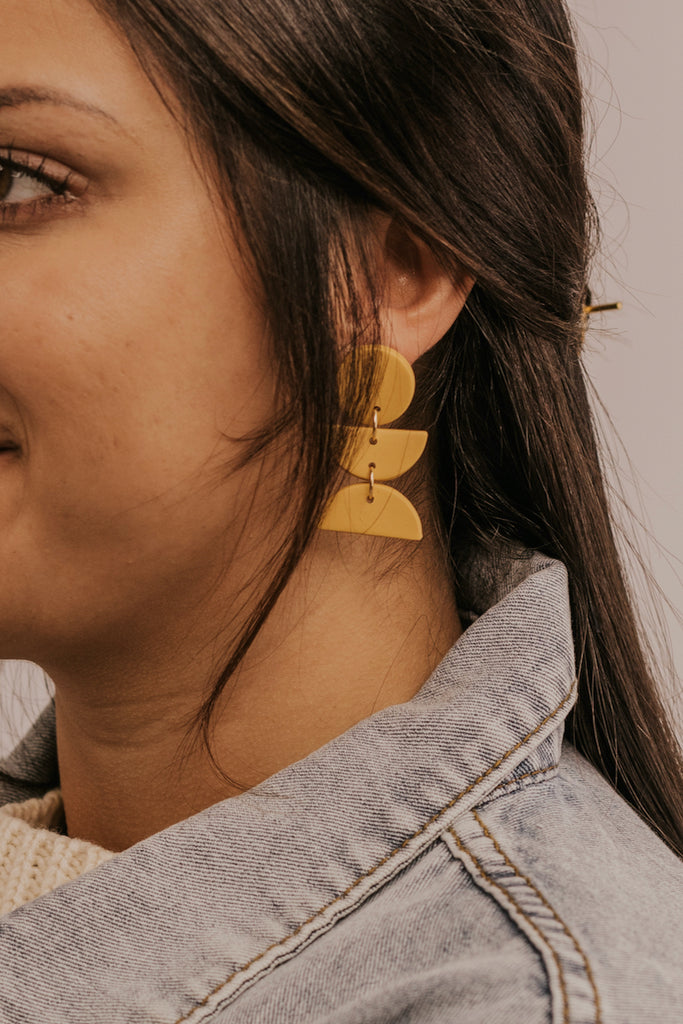 Yellow Earrings | ROOLEE