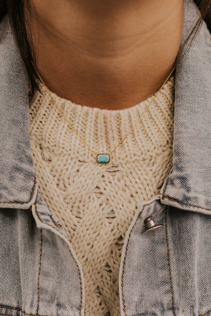 Turquoise Necklace | ROOLEE