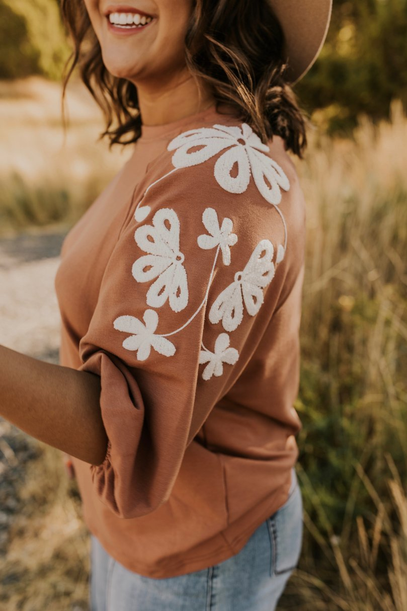 Rust Top for Fall | ROOLEE