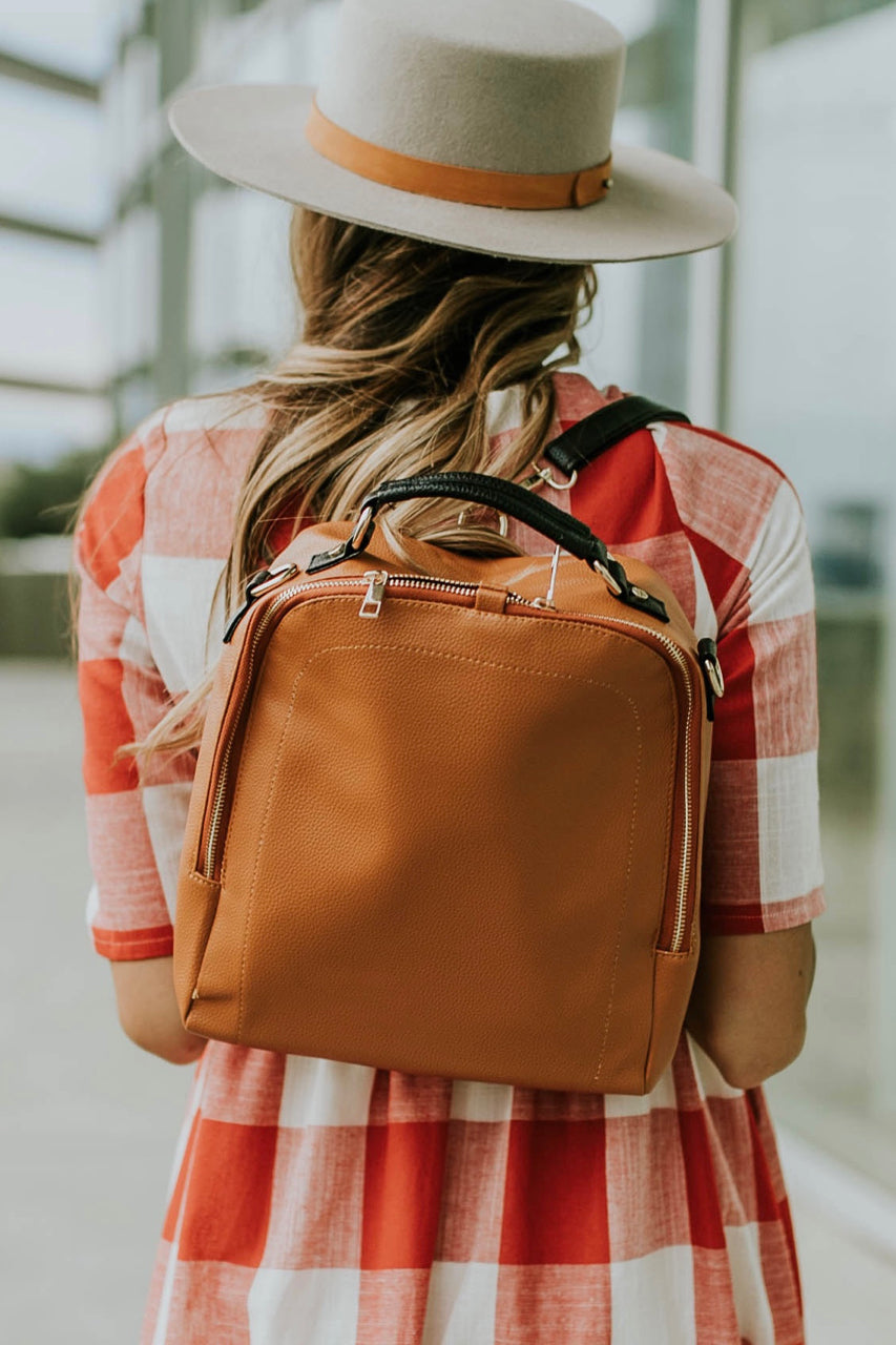 Little Manhattan Backpack in Toffee | ROOLEE