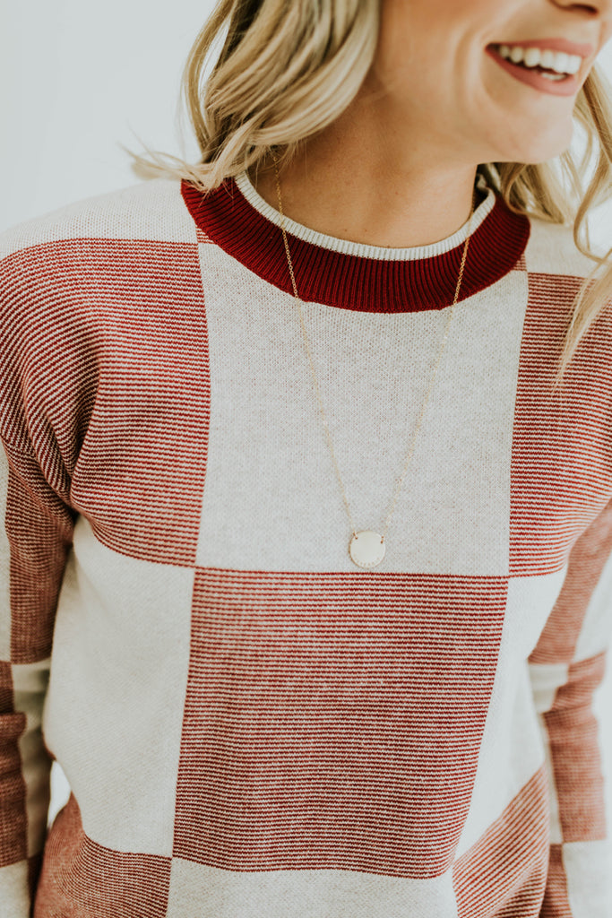 Colorblock Sweater for Fall | ROOLEE