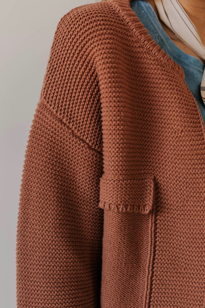 Knit Cardigan Sweater | ROOLEE