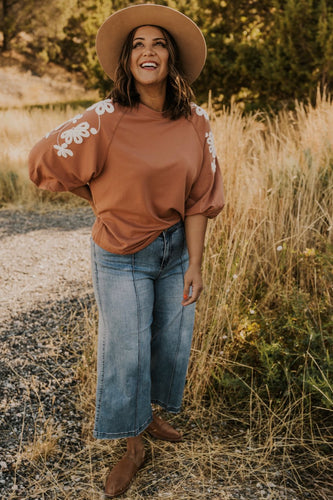 Embroidered Top | ROOLEE