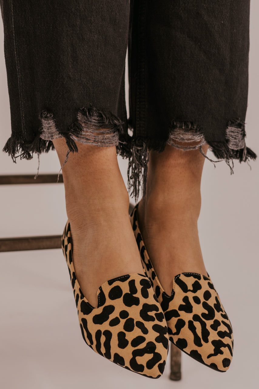 Leopard Printed Flats | ROOLEE