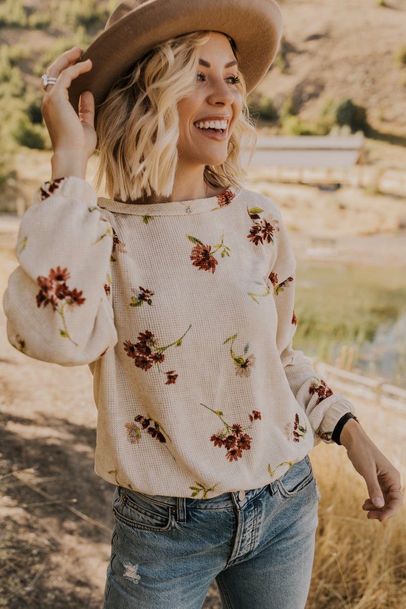 Sweater with Flowers | ROOLEE