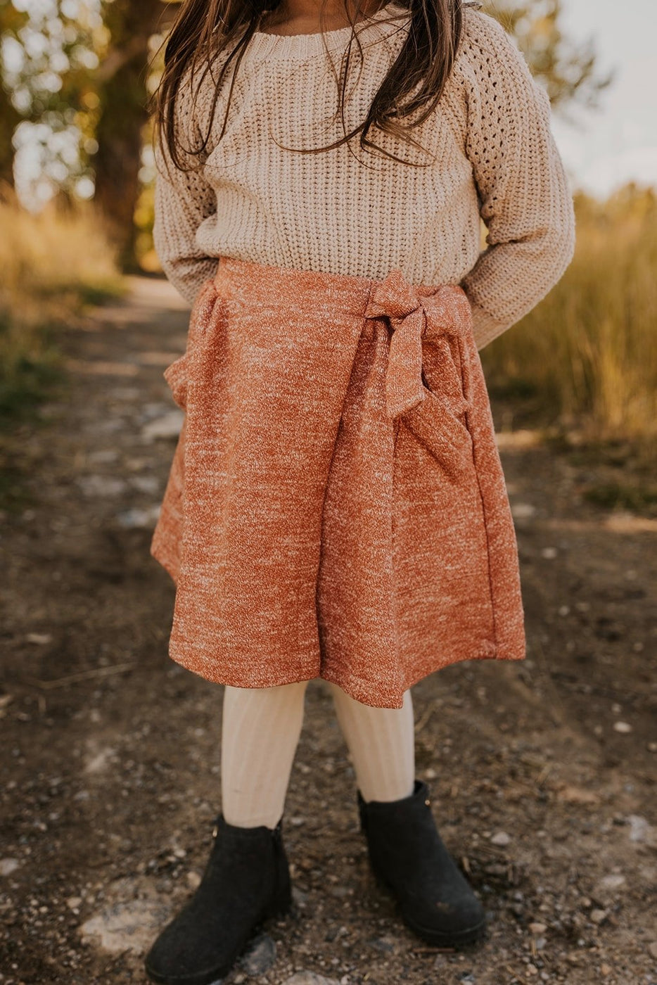 Knit Wrap Skirt | ROOLEE