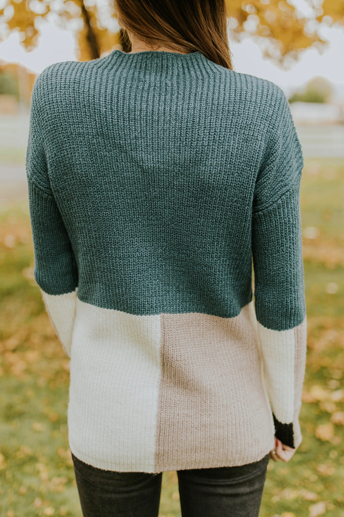Nathan Colorblock Sweater | ROOLEE