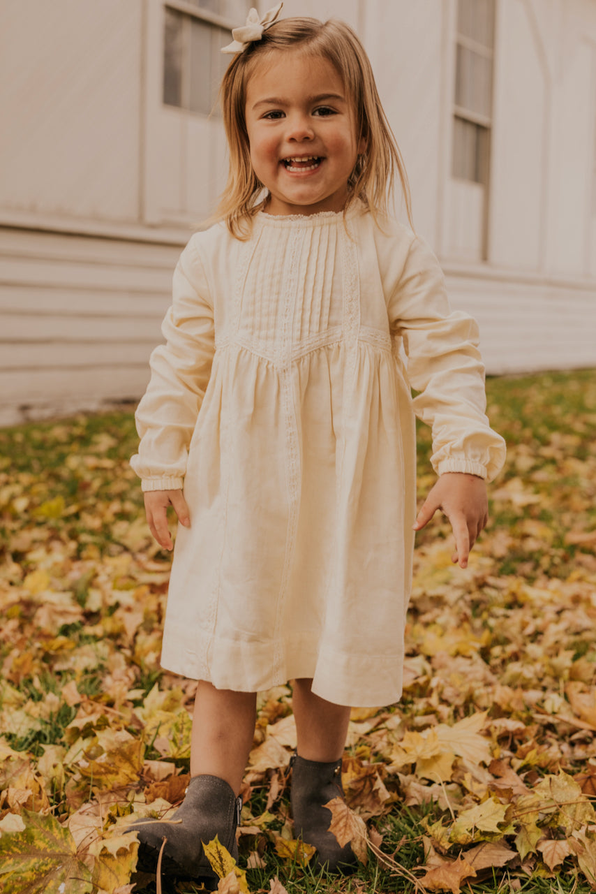 Girls Boho Fall Dress | ROOLEE
